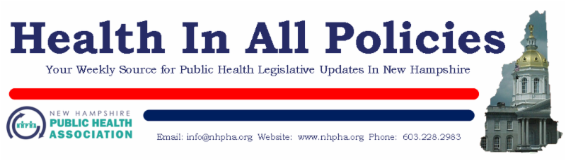 Photos of the Health In All Policies newsletter logo